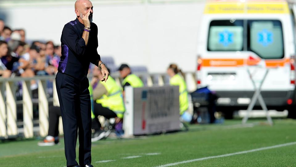 L'allenatore della viola, Stefano Pioli ©