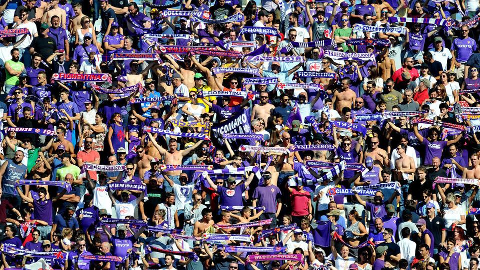 I tifosi viola possono esultare per la vittoria. I toscani sono terzi insieme all'Inter e al Sassuolo ©