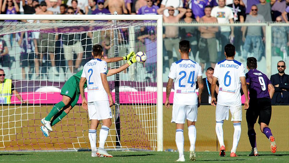 Biraghi fa 2-0 da punizione ©