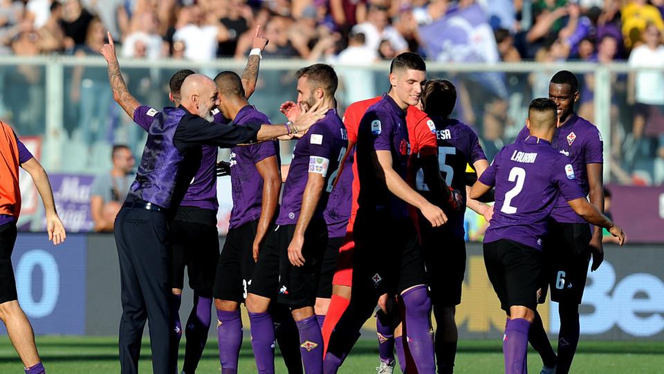 La Fiorentina gioisce ©