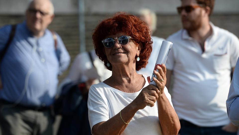 L'ex ministra Valeria Fedeli ©