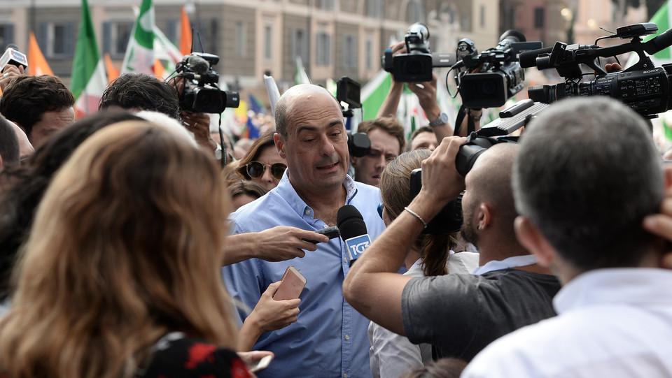 Il governatore del Lazio Nicola Zingaretti ©
