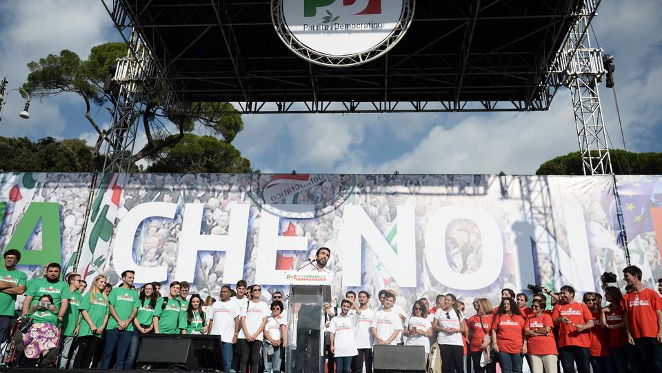 Martina sul palco a piazza del Popolo ©