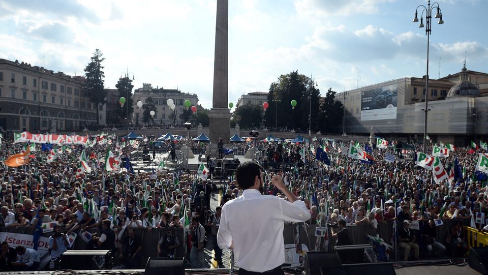 La piazza vista dal palco ©