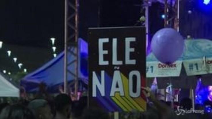 Brasile, manifestazione contro Bolsonaro