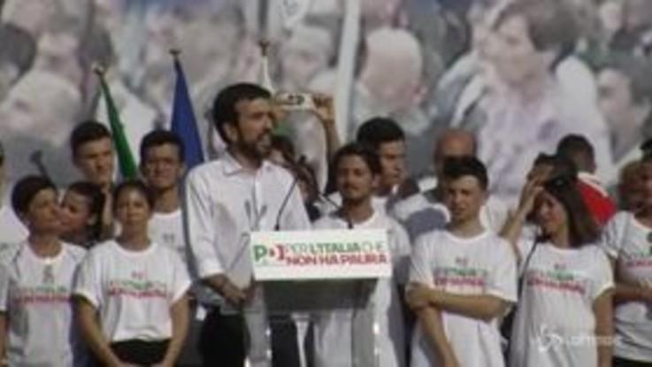 """Martina a Salvini e Di Maio: """"Non si tiene il Paese governato dall'odio, vergognatevi"""""""