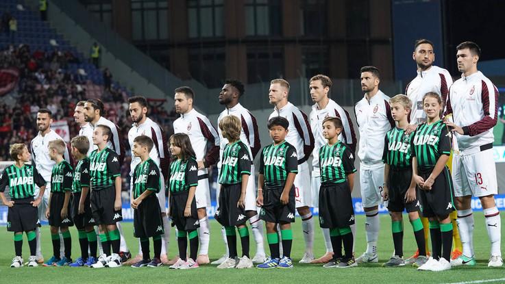 Serie A, Sassuolo-Milan 1-4   Il Fotoracconto