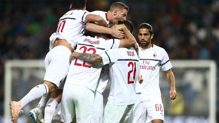 Serie A: Suso devastante, buon Castillejo, male Berardi. Le pagelle di Sassuolo-Milan 1-4