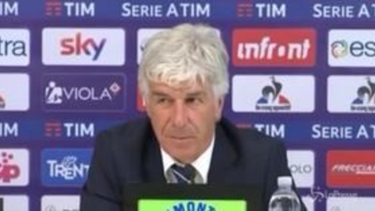 """Fiorentina-Atalanta, Gasperini: """"Partita decisa dall'episodio del rigore"""""""