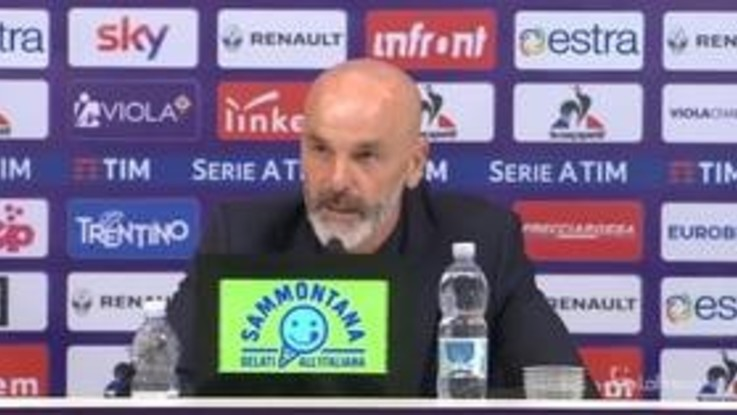 """Fiorentina-Atalanta, Pioli: """"Abbiamo vinto una gara difficilissima, Chiesa non è un cascatore"""""""