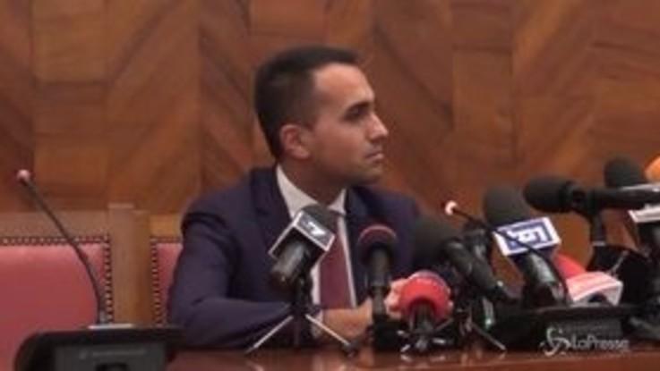 """Manovra, Di Maio:""""Il ritorno di Tria? Tutto programmato, nessuna emergenza"""""""