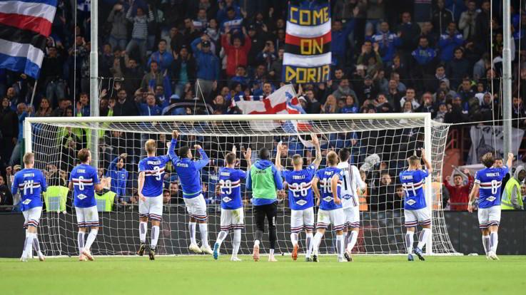 Serie A, Samp supera Spal in rimonta: sorriso ligure con Linetty e Defrel