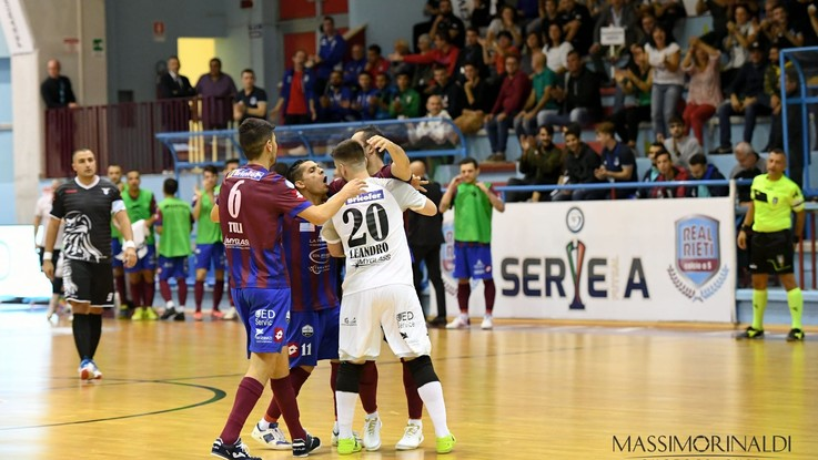 Calcio a 5, Serie A: Kakà regala il derby al Real Rieti
