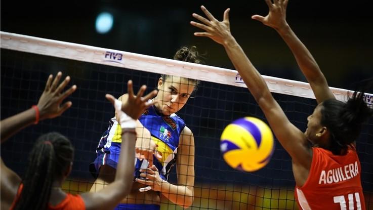 Volley, Mondiali femminili: l'Italia cala il tris, Cuba travolta