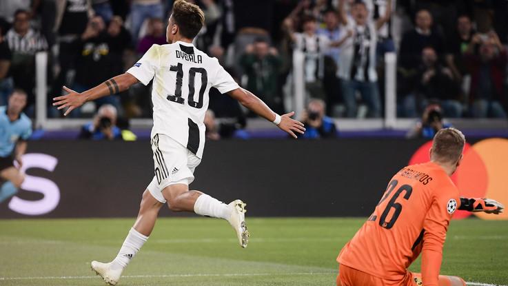 Champions League, Juve-Young Boys 3-0 | Il Fotoracconto