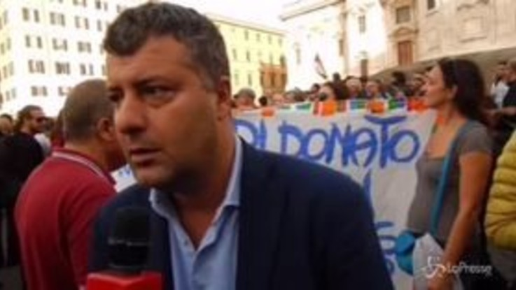 Arresto sindaco di Riace, a Roma la manifestazione per Mimmo Lucano