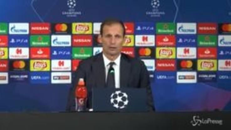 """Champions, Allegri: """"Dovevamo fare più gol"""""""