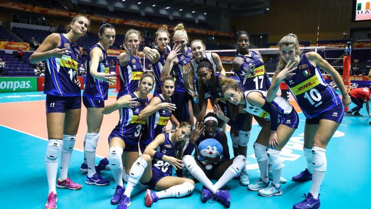 ItalVolley, Mondiali: poker delle azzurre, battuta la Turchia 3-0