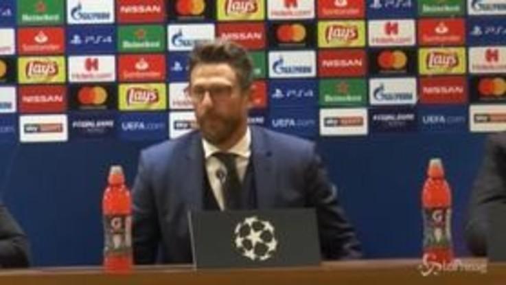 """Roma, Di Francesco: """"Dzeko ha qualità impressionanti"""""""