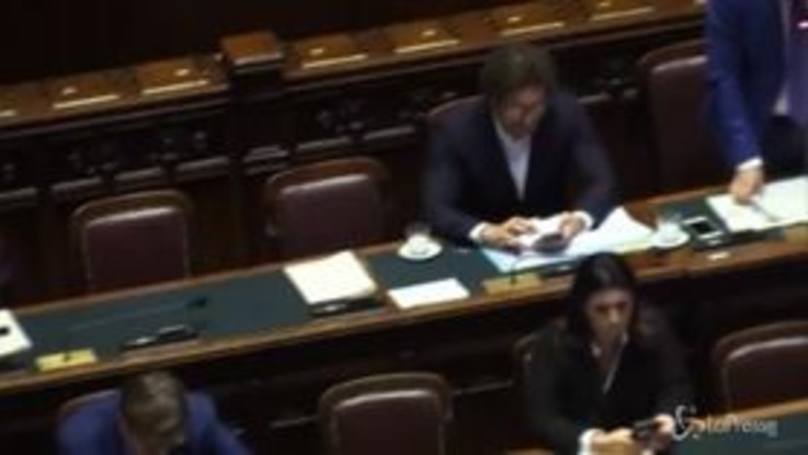 Bagarre in aula, tra Carfagna e Salvini durante il question time