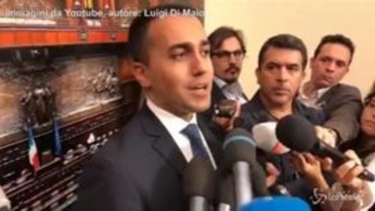 """Di Maio: """"Non me la sento di rimproverare Salvini per quello che ha detto su Juncker"""""""