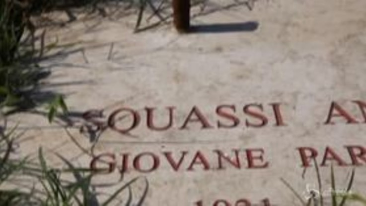 Milano, rubata la croce in memoria del partigiano Angelo Squassi