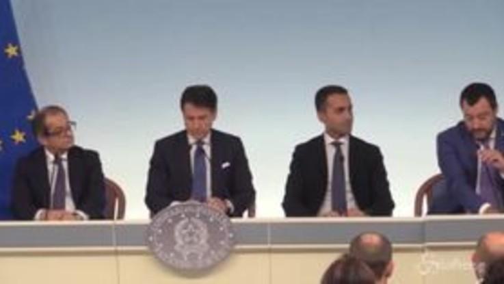 """Salvini: """"Manovra bella e coraggiosa, ci sono Flat Tax e superamento Fornero"""""""