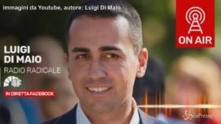 """Ponte di Genova, Di Maio: """"Oggi il nome del commissario"""""""