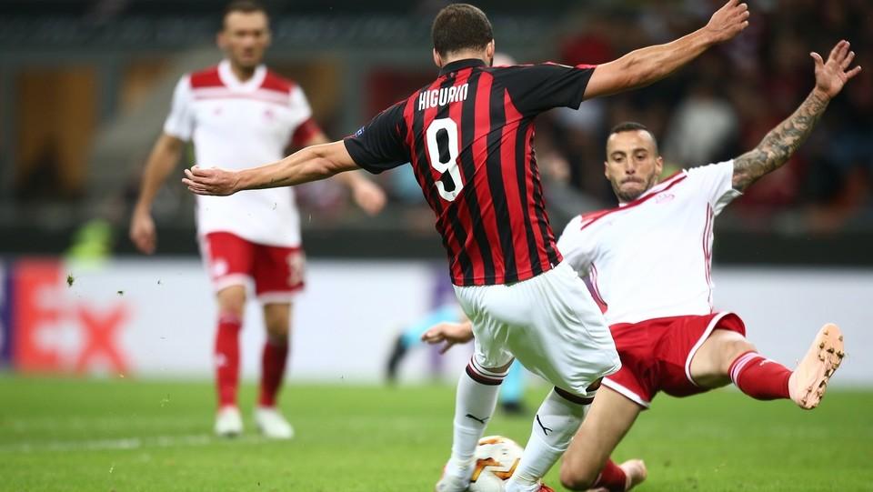 Higuain segna il gol del 2-1 ©