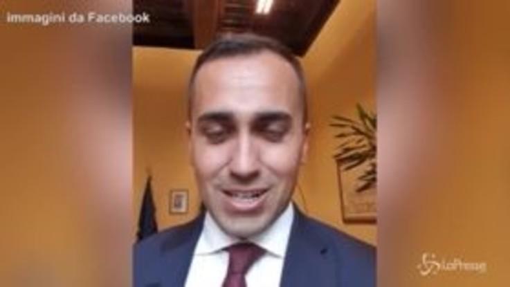 """Di Maio: """"Berlusconi sarà ricordato per il bunga-bunga, noi per essere stati rivoluzionari"""""""
