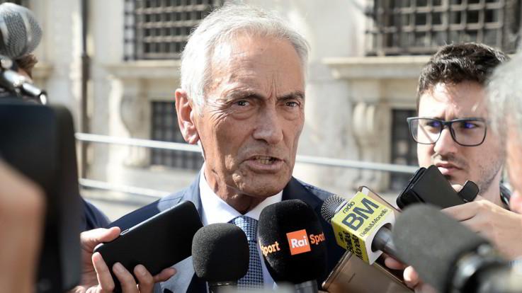 """Figc, Gravina sicuro: """"Il mio 63% è granitico"""". Moratti si defila"""