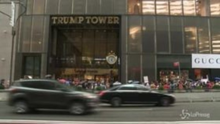 Caso Kavanaugh, proteste davanti alla Trump Tower