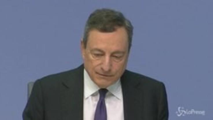 Allarme sulla manovra, Draghi da Mattarella