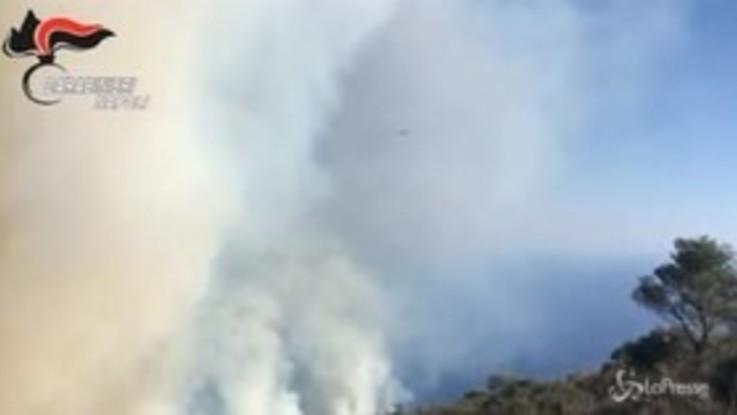 Capri, gioca con il fuoco e incendia uno dei punti più belli dell'isola