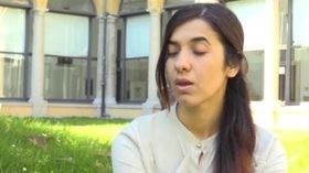 """Nadia Murad, l'intervista dopo essere sfuggita all'Isis: """"Niente muri per chi scappa dal terrore"""""""