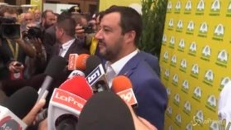 """Dl Sicurezza, Salvini: """"Ho giurato sulla Costituzione ma rappresento gli italiani"""""""