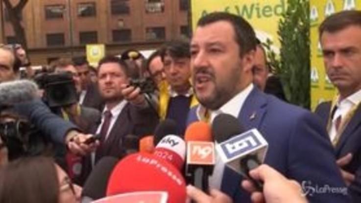 """Salvini: """"No accordi commerciali che mettono a rischio il made in Italy"""""""