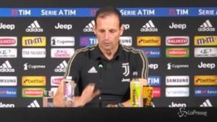 """Allegri: """"Ronaldo concentrato sul campo. Fiorentina? Non intendevo insultare"""""""