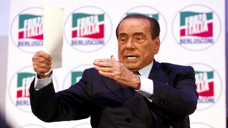 """Berlusconi: """"Manovra nemica del lavoro. Non vorrei Salvini pensasse a elezioni con M5S"""""""