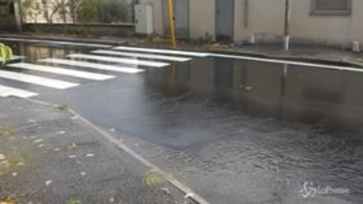 Maltempo, Roma inondata dalla pioggia