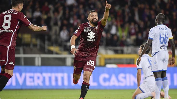 Serie A, Torino-Frosinone 3-2 | Il Fotoracconto