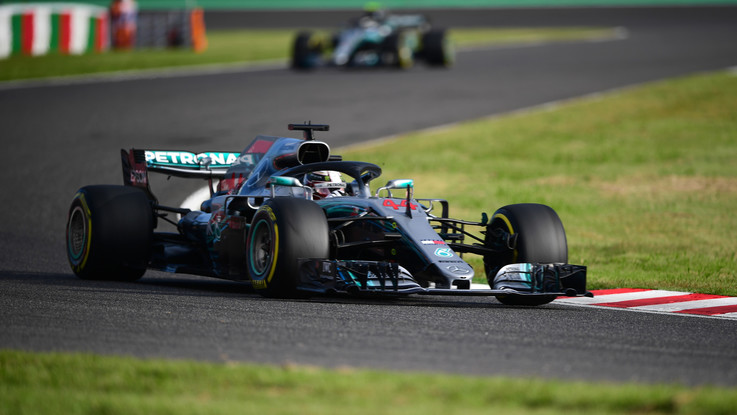 Gp Giappone, pole n.80 per Hamilton a Suzuka. Disastro Ferrari: Vettel  ottavo