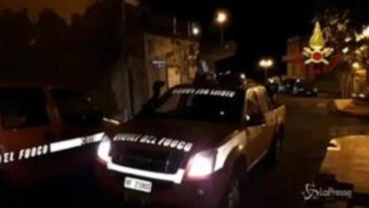 Terremoto nel catanese, paura ma pochi crolli: gli interventi dei vigili del fuoco