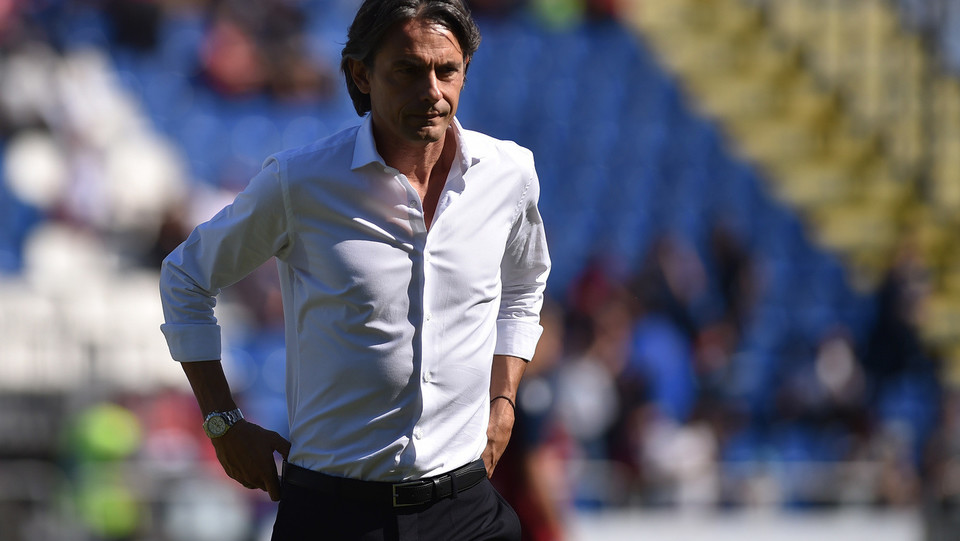 Pippo Inzaghi dall'umore