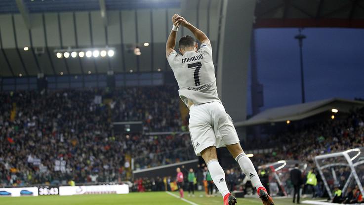 Serie A, Juve a forza dieci: Udinese ko 2-0, in gol Bentancur e CR7