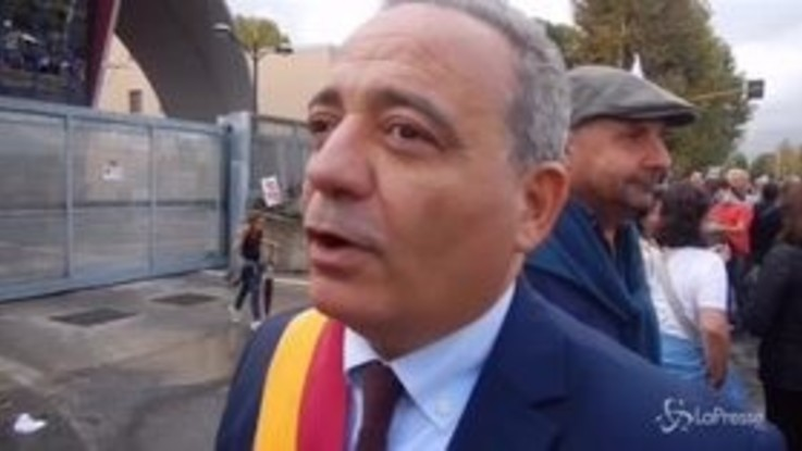 Roma, manifestazione per la chiusura del TMB Salario