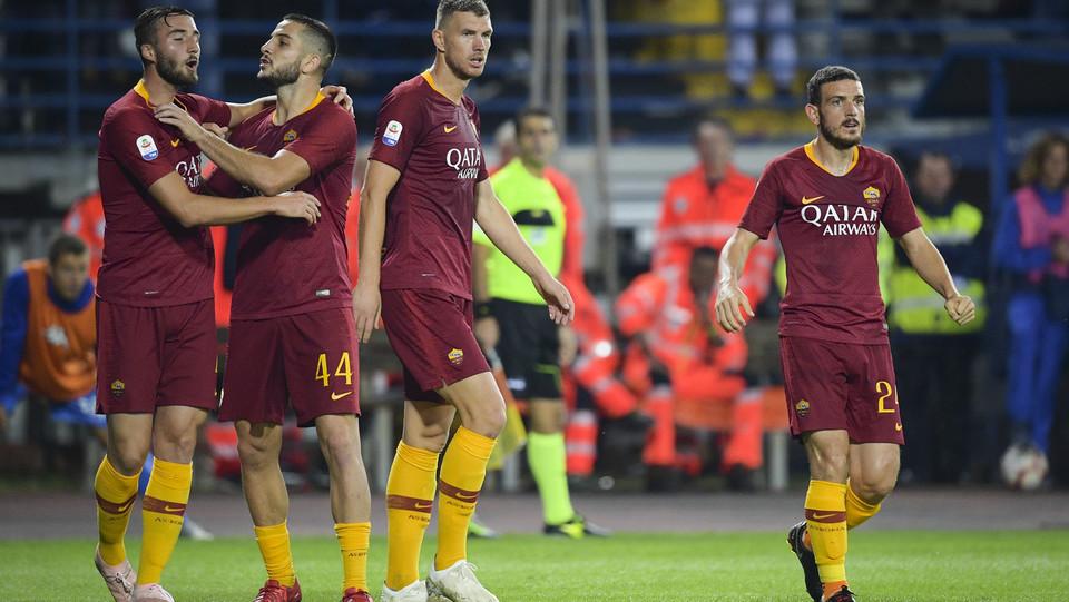La Roma vola al terzo posto in classifica ©