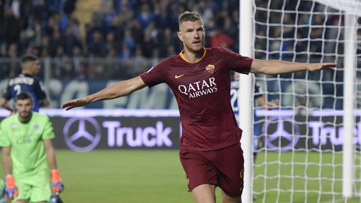 Serie A: Empoli sprecone, la Roma passa 2-0 al Castellani con N'Zonzi e Dzeko