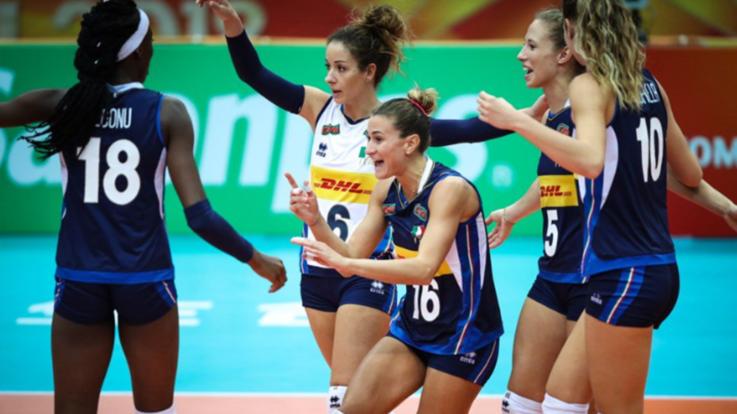 Volley, mondiali femminili: ancora un 3-0 per l'Italia, Azerbaigian ko