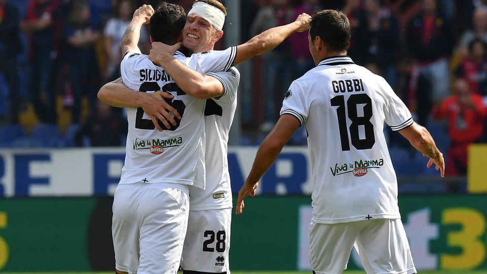 Siligardi fa 2-1 per il Parma ©